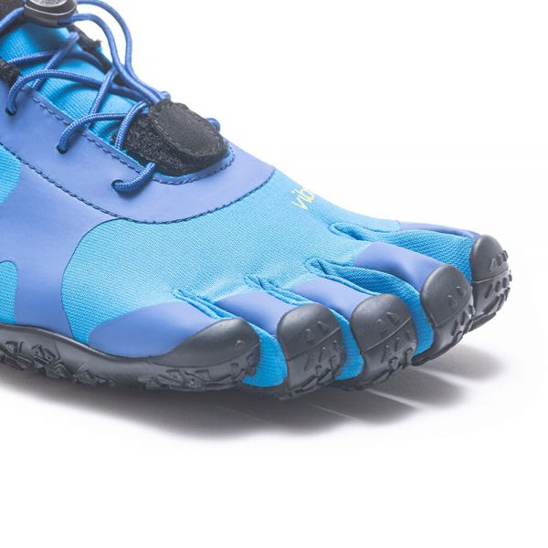 Vibram FiveFingers Mens V-ALPHA Minimalist Shoe - Blue/Black - Toes