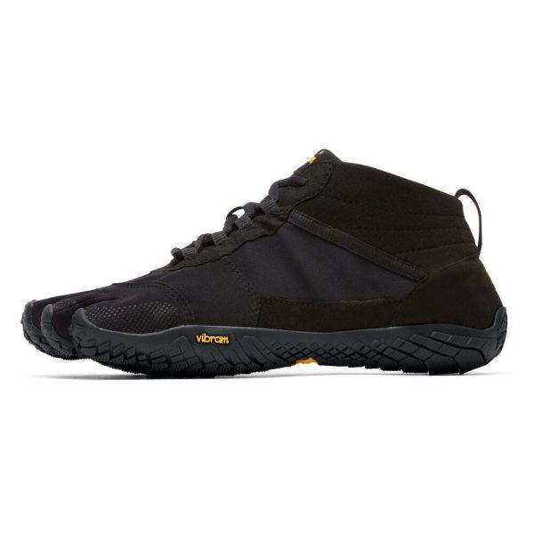 Vibram FiveFingers Mens V-TREK Minimalist Trail Shoe - Black - Side