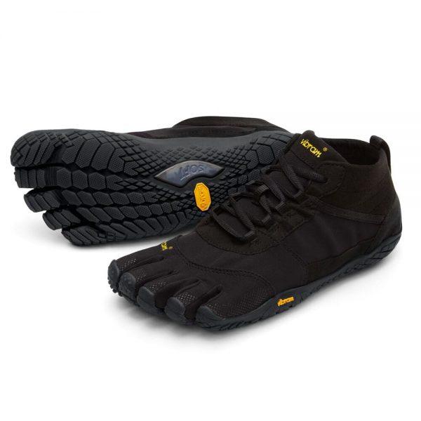 Vibram FiveFingers Mens V-TREK Minimalist Trail Shoe - Black