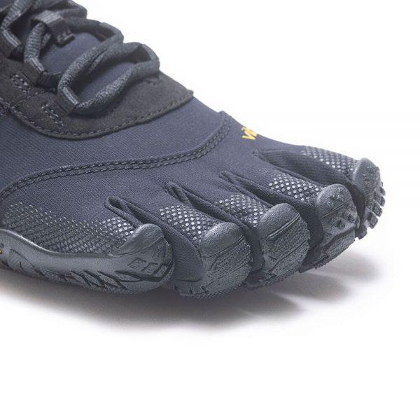 Vibram FiveFingers Mens V-TREK Minimalist Trail Shoe - Black - Toes