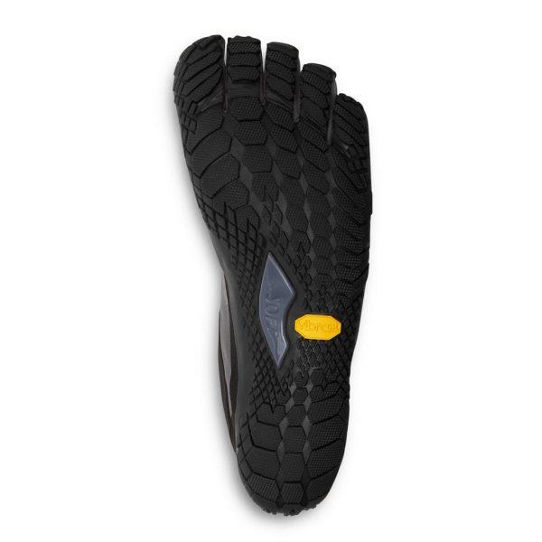 Vibram FiveFingers Mens V-TREK Minimalist Trail Shoe - Black/Grey - Sole