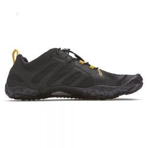 Vibram Fivefingers Womens V-TRAIL 2.0 Minimalist Running Shoes - Black/Yellow - Side