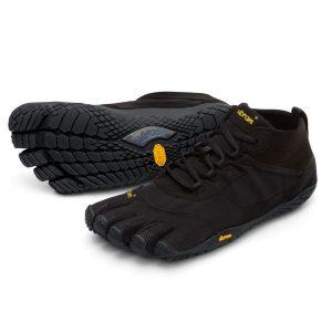 Vibram Fivefingers Womens V-TREK Minimalist Running Shoes - Black