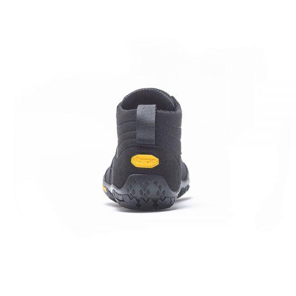 Vibram Fivefingers Womens V-TREK Minimalist Running Shoes - Black - Back