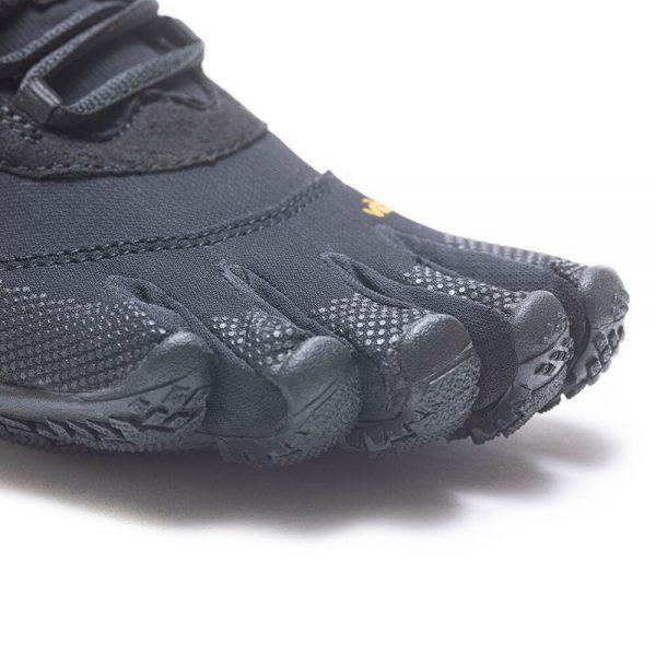 Vibram Fivefingers Womens V-TREK Minimalist Running Shoes - Black - Toes