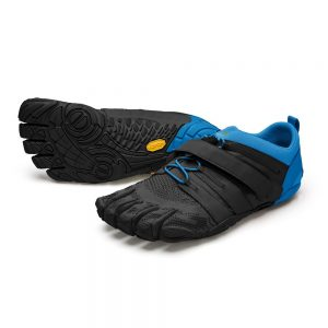 Vibram FiveFingers Mens V-TRAIN 2.0 Minimalist Training Shoe - Black/Blue