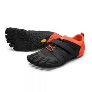 Vibram FiveFingers Mens V-TRAIN 2.0 Minimalist Training Shoe - Black/Orange