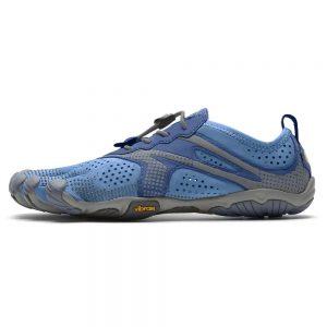 Vibram Fivefingers Womens V-RUN Minimalist Running Shoes - Blue/Blue - Main