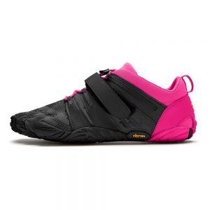 Vibram FiveFingers Womens V-TRAIN 2.0 Minimalist Training Shoe - Black/Pink - Side