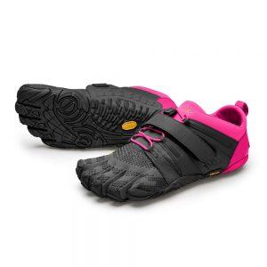 Vibram FiveFingers Womens V-TRAIN 2.0 Minimalist Training Shoe - Black/Pink