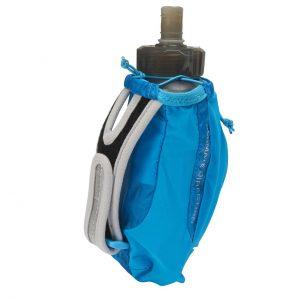 Ultimate Direction Clutch Handheld Running Bottle & Storage - 500ml - Signature Blue - Back