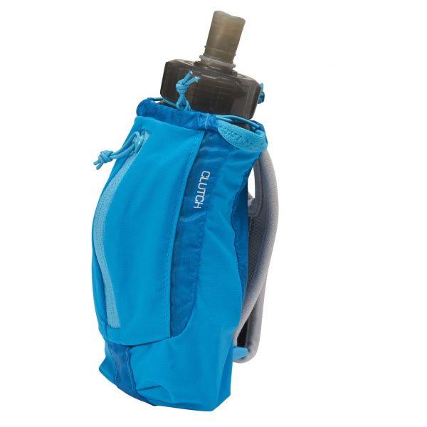 Ultimate Direction Clutch Handheld Running Bottle & Storage - 500ml - Signature Blue