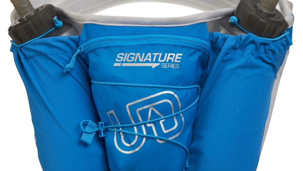 Ultimate Direction Ultra Belt 5.0 & 2 x 500ml Body Bottle - Signature Blue