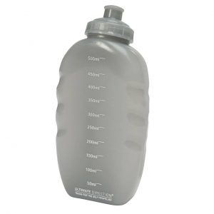 Ultimate Direction FlexForm Bottle - 500ml - Clear - Back