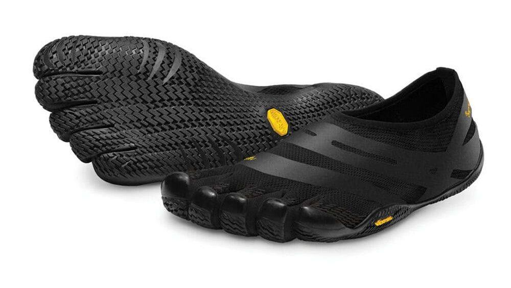 Vibram FiveFingers Mens EL-X Minimalist Shoes - Black