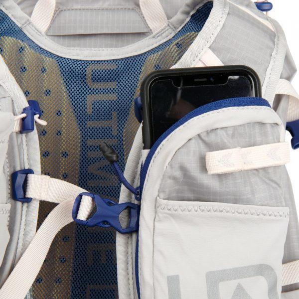 Ultimate Direction FASTPACKHER 20 - 20L Running Backpack for Women - Mist - Phone