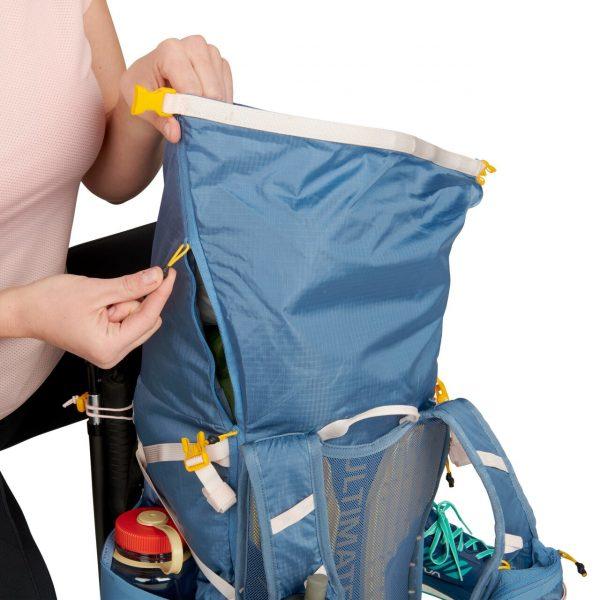 Ultimate Direction FASTPACKHER 30 - 30L Running Backpack for Women - Fog - Top