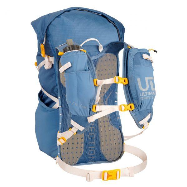 Ultimate Direction FASTPACKHER 30 - 30L Running Backpack for Women - Fog - Straps Front