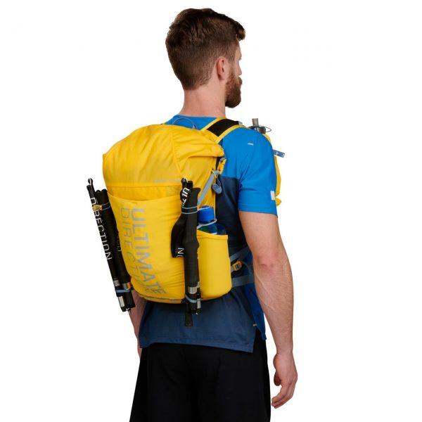 Ultimate Direction FASTPACK 20 - 20L Running Backpack - Model Back
