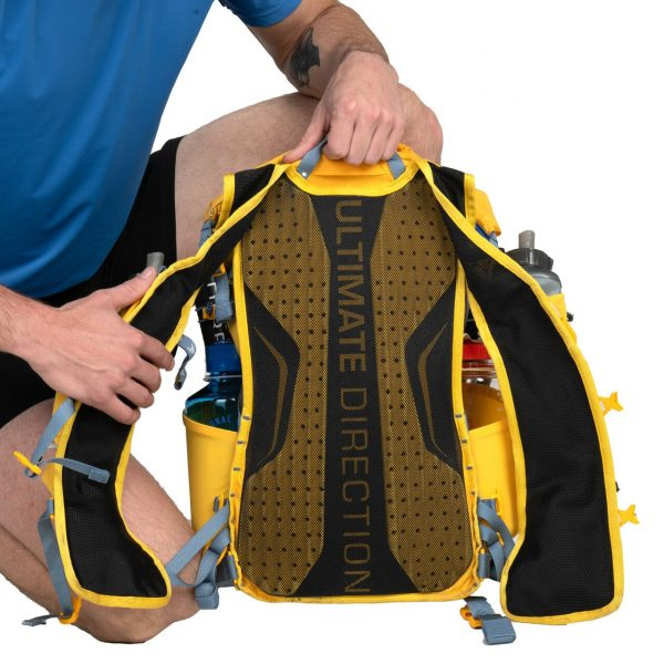 Ultimate Direction FASTPACK 20 - 20L Running Backpack - Beacon - Back Support