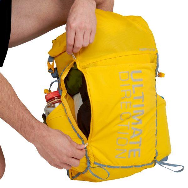 Ultimate Direction FASTPACK 20 - 20L Running Backpack - Beacon - Pocket