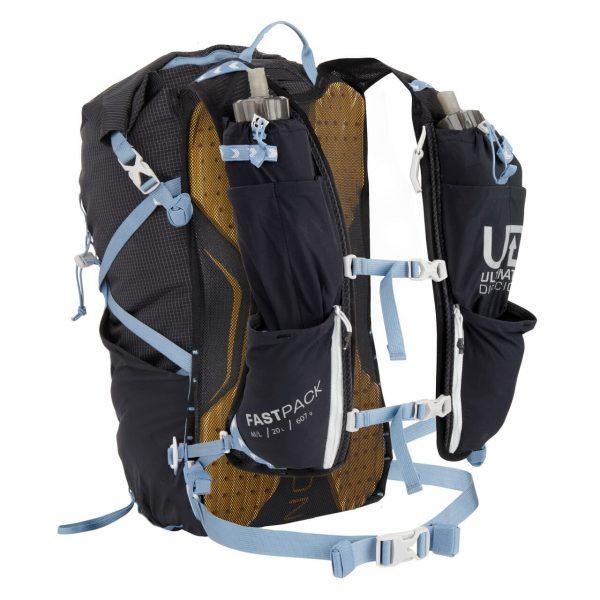 Ultimate Direction FASTPACK 20 - 20L Running Backpack - Black - Straps