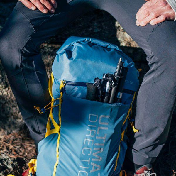 Ultimate Direction FASTPACK 30 - 30L Running Backpack - Fog - Photoshoot