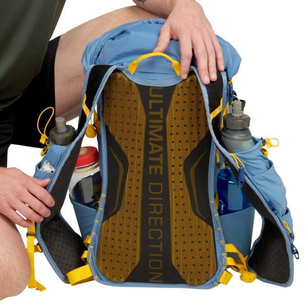 Ultimate Direction FASTPACK 30 - 30L Running Backpack - Fog - Back Support
