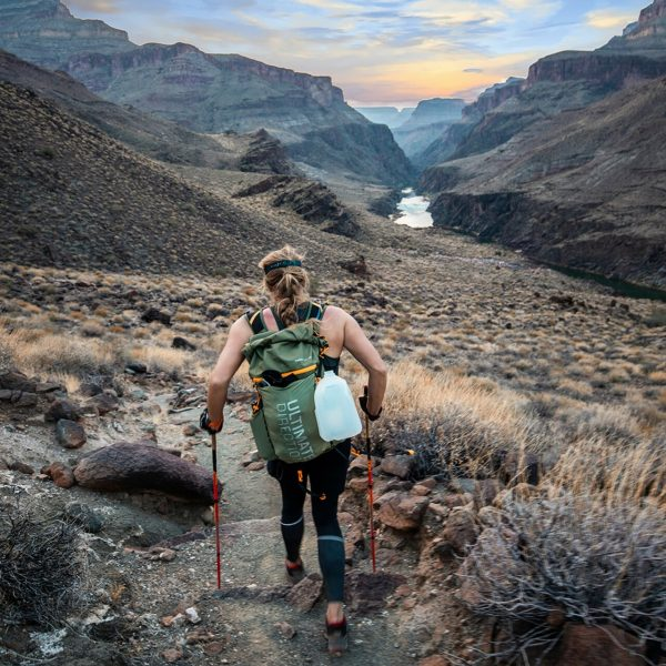 Ultimate Direction FASTPACK 40 - 40L Running Backpack - Spruce - Photoshoot 2