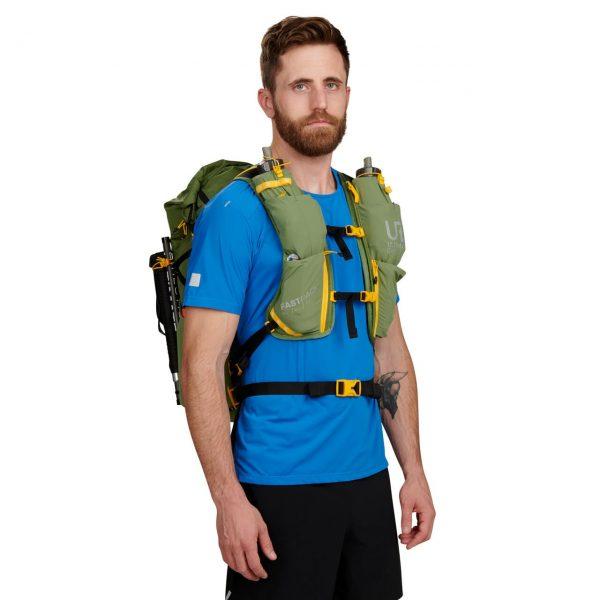 Ultimate Direction FASTPACK 40 - 40L Running Backpack - Spruce - Model Front