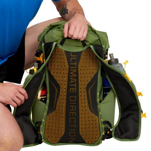 Ultimate Direction FASTPACK 40 - 40L Running Backpack - Spruce - Back Support