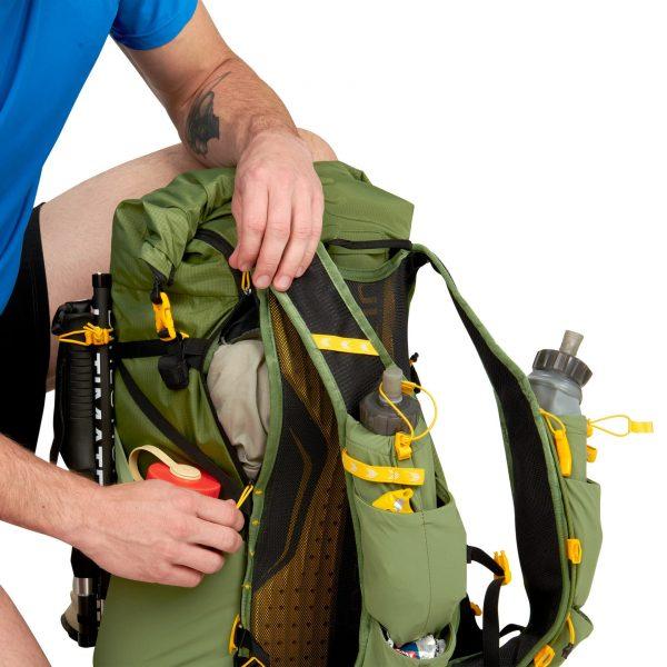 Ultimate Direction FASTPACK 40 - 40L Running Backpack - Spruce - Pockets